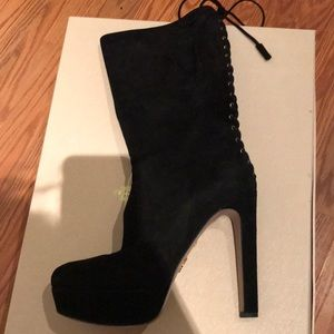 Velvet Prada Boots
